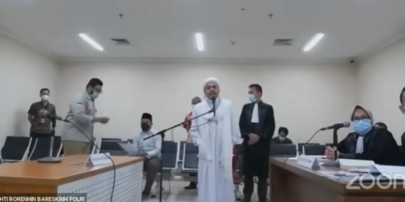 Soal Sidang Habib Rizieq, Lemkapi: Saya Yakin Majelis Hakim Beri Putusan Berkeadilan