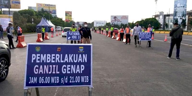 Dinilai Efektif Tekan Mobilitas, Kebijakan Ganjil-Genap di Kota Bandung Dilanjutkan
