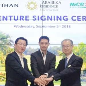 Bangun Golf Villa, Jababeka Gandeng 2 Developer Jepang