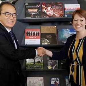 Koleksi Buku Indonesia Di Perpustakaan Kota Wellington