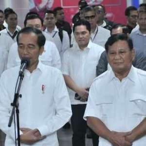 Koalisi Prabowo Bergabung Ke Pemerintahan? Begini Jawaban Jokowi