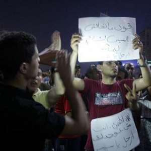 Unjuk Rasa Mesir Diwarnai Tembakan Gas Air Mata Dan Peluru Karet