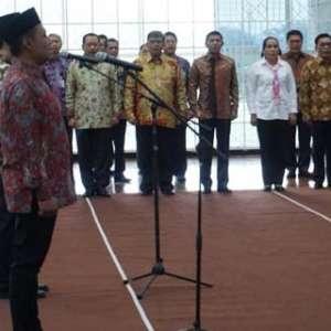Kabareskrim Idham Aziz Hadiri Pelantikan Dua Pejabat KPK