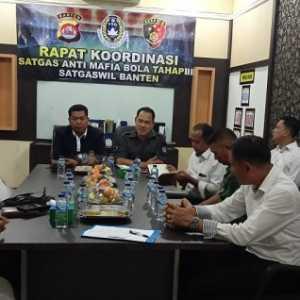 Gelar Rakor Bersama, Satgas Antimafia Bola Ingin Ciptakan Sepak Bola Banten Yang Bersih
