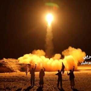 Rudal Balistik Melintas Di Atas Langit Riyadh, Berhasil Dicegat