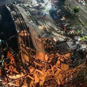 Hotel Untuk Karantina Pasien Corona Ambruk, 70 Orang Terperangkap