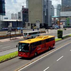 Pola Operasional Bus Transjakarta Masih Tetap Sama Hingga Hari Rabu