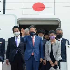 Tiba Di Indonesia, Ini Sederet Agenda Yang Dibawa PM Jepang