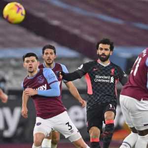 Brace Brilian Salah Dongkrak Liverpool Ke Posisi Ketiga