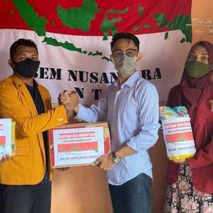 BEM Nusantara Bagikan Bantuan Logistik Untuk Korban Bencana Alam NTT