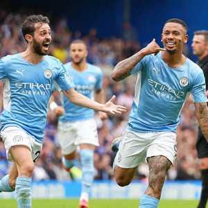 Gol Semata Wayang City Akhiri Catatan Tak Terkalahkan Chelsea